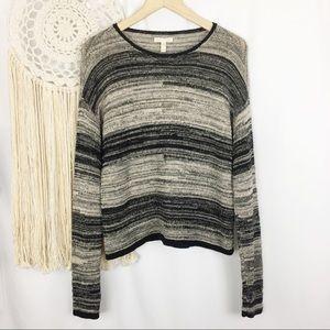 EILEEN FISHER Organic Cotton Wool Knit Sweater XS